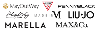 MayWay, Guess, Marella, Liu Jo, Made in M, MAX&Co., Penny Black